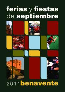 ferias y fiestas de septiembre