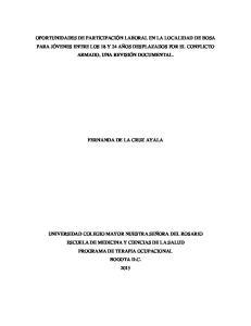 FERNANDA DE LA CRUZ AYALA