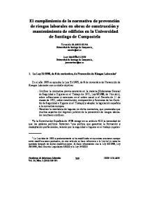 Fernando BLANCO SILVA Universidad de Santiago de Compostela,