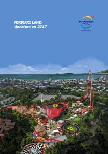 FERRARI LAND Apertura en 2017