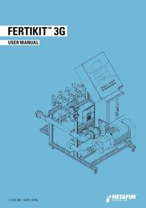 FERTIKIT 3G USER MANUAL