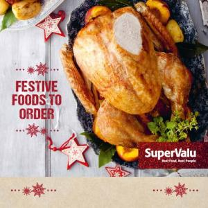 FESTIVE FOODS TO ORDER