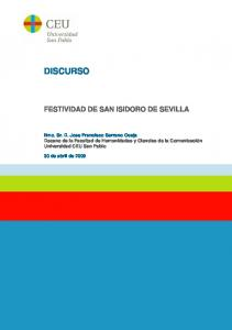 FESTIVIDAD DE SAN ISIDORO DE SEVILLA