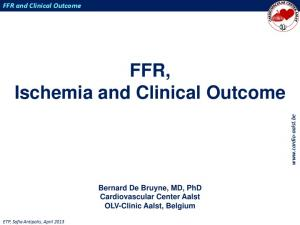 FFR, Ischemia and Clinical Outcome