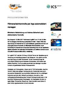 Führerscheinkontrolle per App automatisiert managen