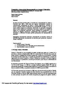 FIAT IFTA WORLD CONFERENCE MADRID,