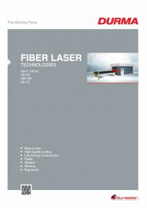 Fiber Laser Cutting Solutions