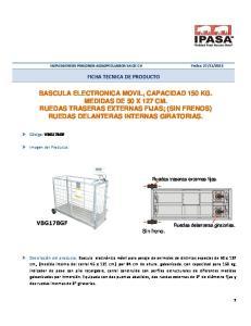 FICHA TECNICA DE PRODUCTO