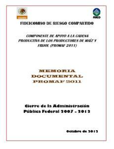 FIDEICOMISO DE RIESGO COMPARTIDO