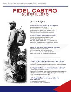 FIDEL CASTRO GUERRILLERO. Arnold August
