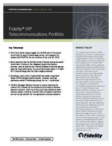 Fidelity VIP Telecommunications Portfolio