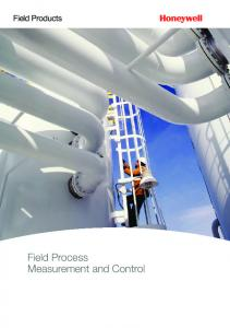 Field Products. Field Process Measurement and Control