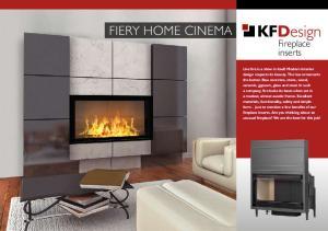 Fiery Home Cinema Fireplace inserts