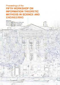 FIFTH WORKSHOP ON INFORMATION THEORETIC METHODS IN SCIENCE AND ENGINEERING