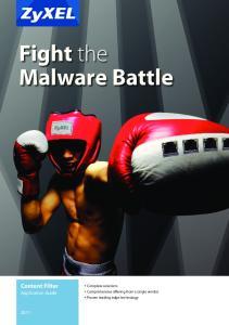 Fight the Malware Battle