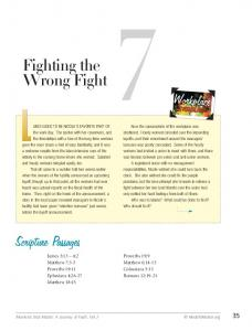 Fighting the Wrong Fight