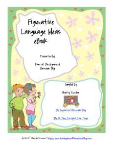 Figurative Language Ideas ebook