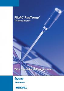 FILAC FasTemp* Thermometer. Where speed and accuracy meet