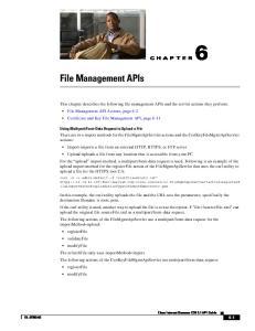 File Management APIs