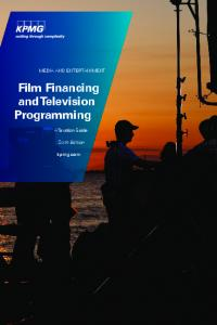 Film Financing and Television Programming