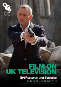 FILM ON UK TELEVISION