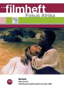 filmheft Fokus Afrika Sankofa