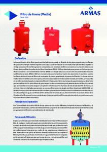 Filtro de Arena (Media) Serie 1000