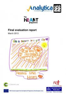 Final evaluation report. March 2013