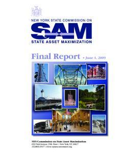 Final Report June 1, 2009