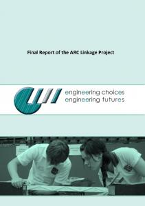Final Report of the ARC Linkage Project