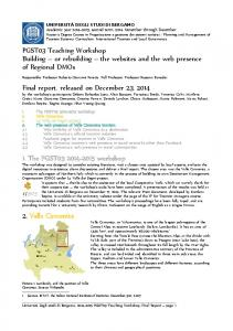 Final report, released on December 23, 2014