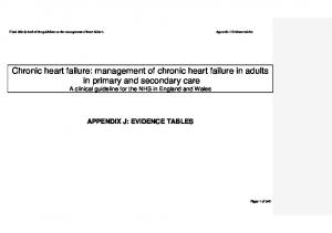 Final (third) draft of the guideline on the management of heart failure