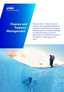 Finance and Treasury Management