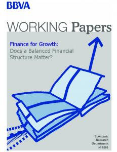 Finance for Growth: Does a Balanced Financial Structure Matter?