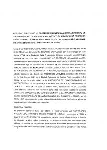 FINANCIACION DEL SISTEMA. VENTA DE SOLICITUD TIPO