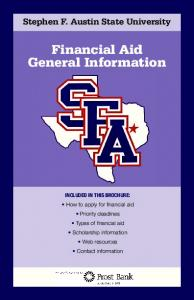 Financial Aid General Information