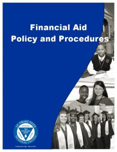 Financial Aid Policy and Procedures