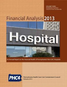 Financial Analysis 2013