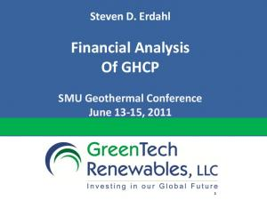 Financial Analysis Of GHCP
