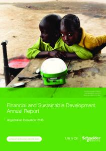 Financial and Sustainable Development Annual Report
