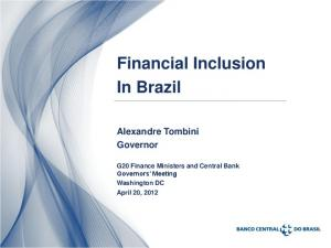 Financial Inclusion In Brazil