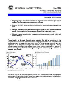 FINANCIAL MARKET UPDATE May 2003