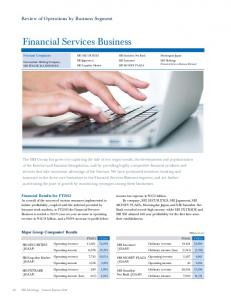Financial Services Business