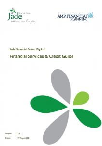 Financial Services & Credit Guide