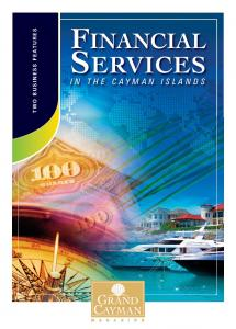 FINANCIAL TWO BUSINESS FEATURES SERVICES IN THE CAYMAN ISLANDS