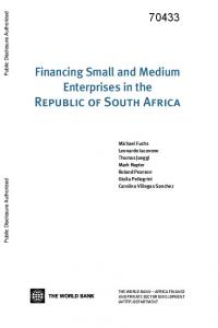 Financing Small and Medium Enterprises in the Republic of South Africa