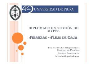 FINANZAS -FLUJO DE CAJA