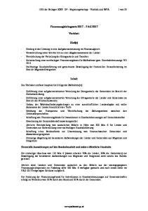 Finanzausgleichsgesetz 2017 FAG Vorblatt. Ziel(e) Inhalt