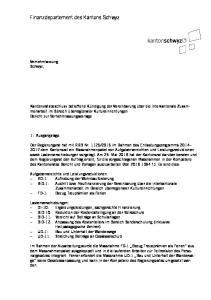 Finanzdepartement des Kantons Schwyz