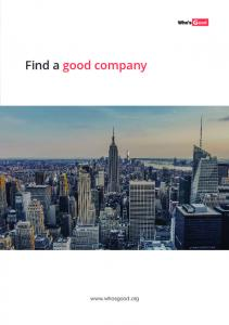 Find a good company
